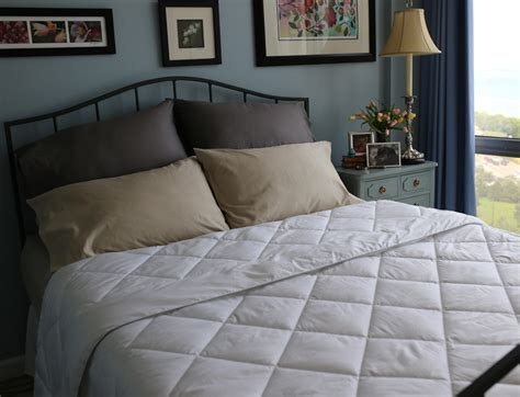 soft lightweight comforters all season silver antimicrobial white down comforter