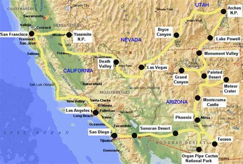 cheap california holidays west coast travel city direct map of west coast of california holidaymapq com