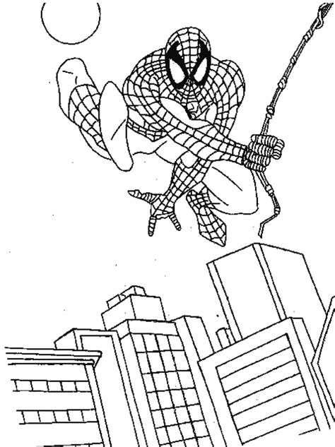 simple spiderman coloring page spiderman coloring pages dr odd