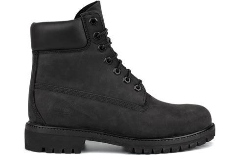 black timberland boots for timberland 6 inch nubuck premium 10073 s black