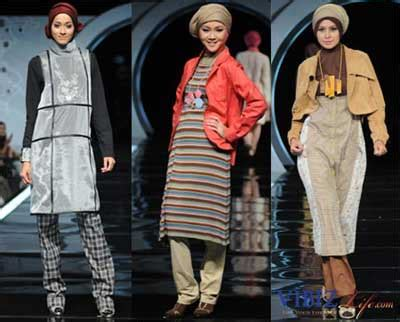 Busana Syari Trendy 4 islamic fashion goes stylish in indonesia news from indonesia