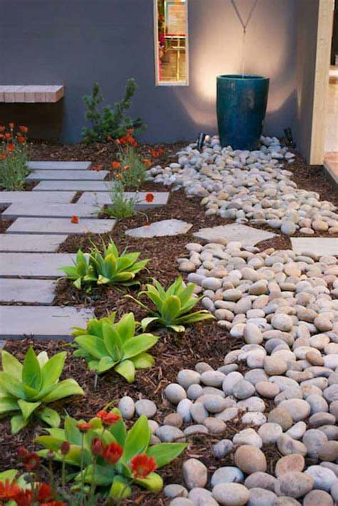 35 amazing ideas adding river rocks to your home design 35 amazing ideas adding river rocks to your home design
