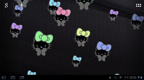 hello kitty cool wallpaper download hello kitty cool livewallpaper for android by