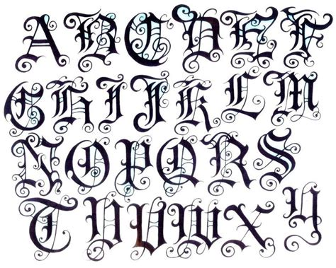 tattoo designs alphabet a images for gt letters design tattoo art pinterest