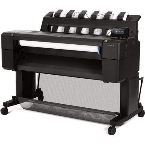 thermal inkjet printing hp designjet t930 36 quot thermal inkjet printer l2y21ab1k b h