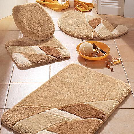mosaic pattern bathroom mats by witt witt international