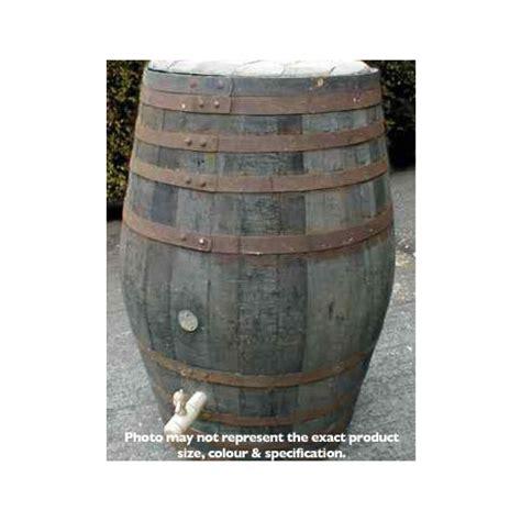 100 gallon barrel barrel garden 100 gallon rustic oak barrel water