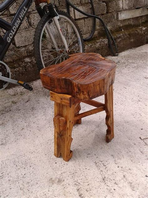 Diy Wood Furniture by Diy Rustic Wood Furniture For Outdoor Diy And Crafts