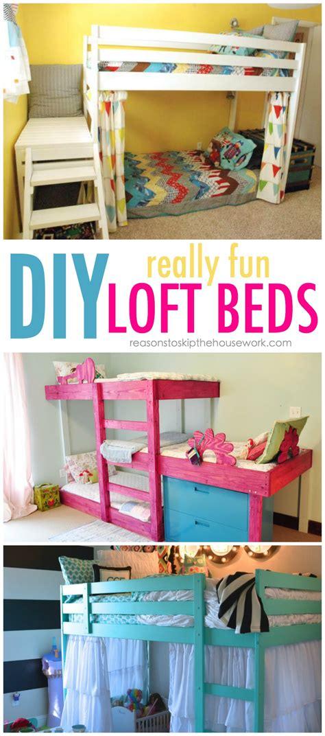 diy bunk bed diy bunk beds tutorials and plans