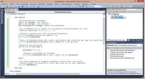 Imagenes Aleatorias Visual Basic | primeros ejemplos visual basic con salida en consola