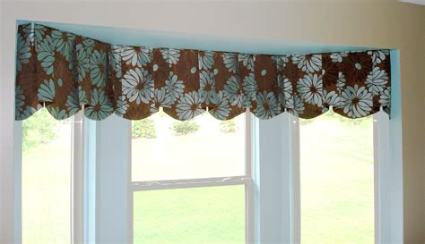 Brown Valance For Windows Ideas No Sew Valance Patterns 28 Images No Sew Shower Curtain Nurani