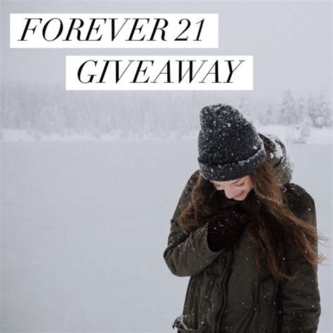 enter to win the 150 forever 21 gift card giveaway ends 1 26