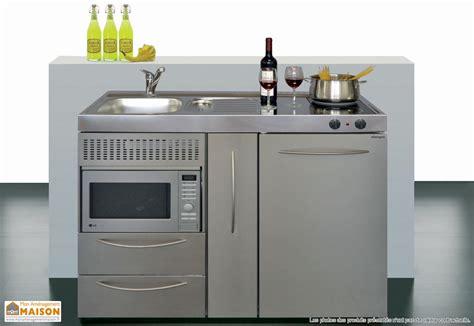 Charmant Meuble Pour Mini Four #2: cuisine-inox-mpmes120.jpg