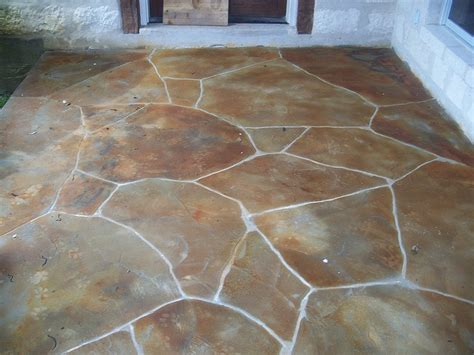 faux painting concrete patio 11 best images about faux flagstone on stains