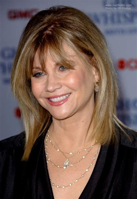 markie post haircut markie post s hair with layers that rests upon her shoulders