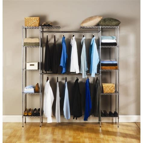 bedroom closet organizers bedroom stunning walk in closet design with gray metal