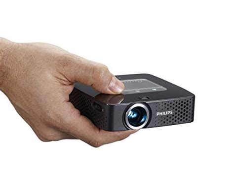 Philips Mini Pocket Projector Wifi philips picopix ppx3614 portable wireless led mini projector 120 display 140 lumens wifi