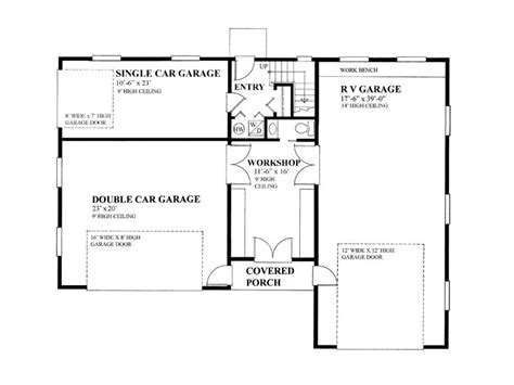 Garage Shop Floor Plans Garage Apartment Plans Garage Apartment Plan With 3 Car