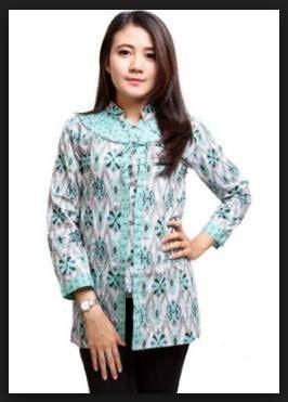 desain baju batik perpisahan 42 desain model baju batik wanita atasan modern terbaru 2018