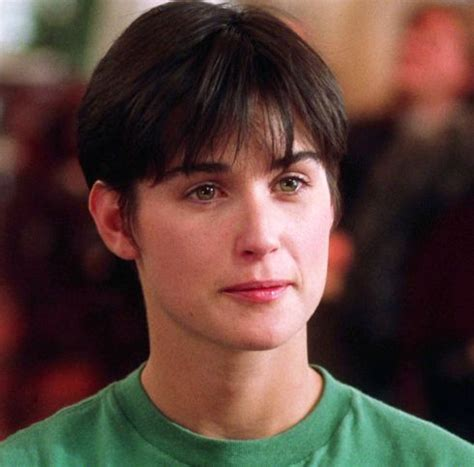 hairstyle demi moore in ghost hair iconic hairstyle demi moore s short boyish cut makeup