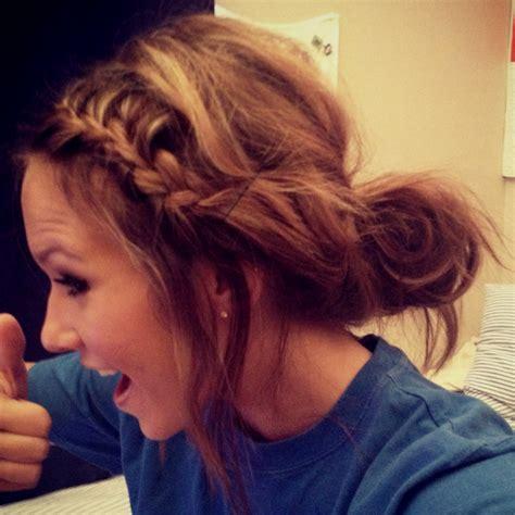 pretty easy messy ponytail hairstyles