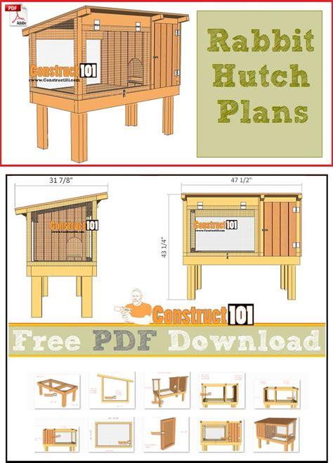 rabbit house designs best 20 rabbit hutches ideas on pinterest