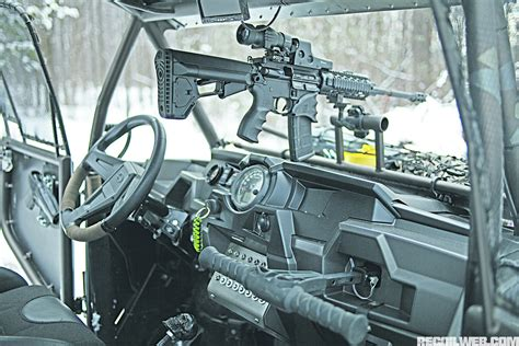 Polaris Rzr Gun Rack by 2014 Polaris Rzr Blade Runner Recoil