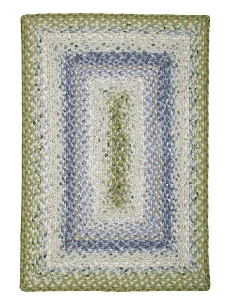cotton braided rugs seascape cotton braided rug cottage home 174