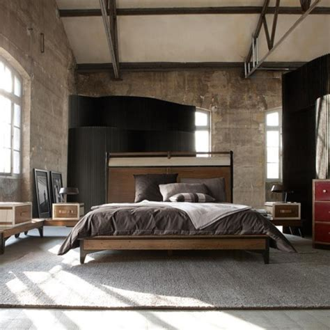 Industrial Bedroom Decor Ideas by 70 Stylish And Masculine Bedroom Design Ideas Digsdigs