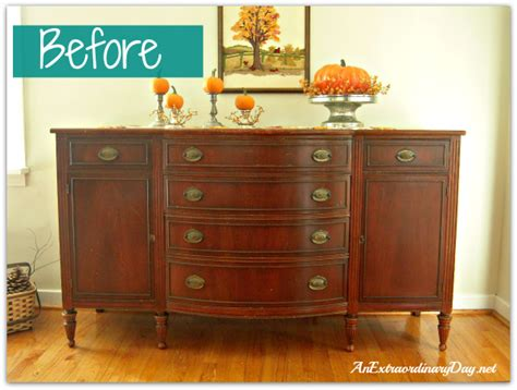 Kitchen Cabinet Painting Ideas annie sloan chalk paint transforming a vintage sideboard