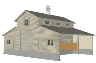 Free Barn Plans by Free Sample Barn Plan Download G339 52 X 38 Barn Plan