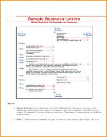 Business Letter Block Format Spacing 7 Block Style Letter Format Technician Resume