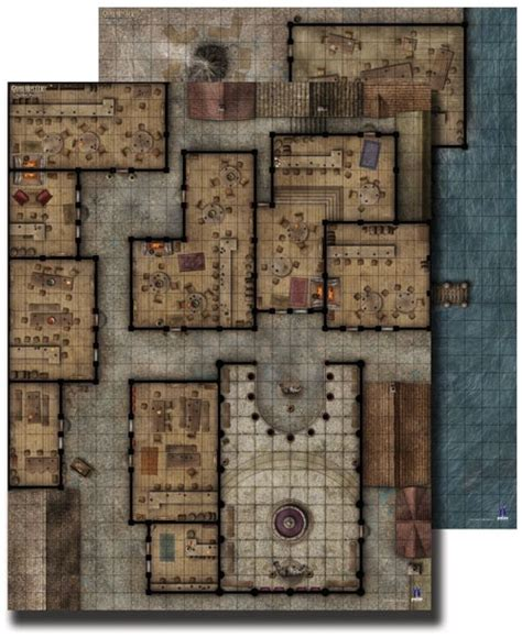 paizo gamemastery flip mat pub crawl