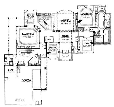 L Shaped House Plans Without Garage L Shaped Garage House Plans
