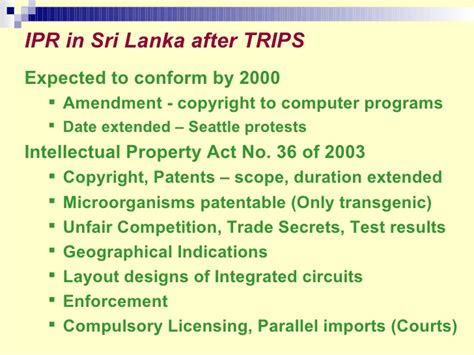 layout design integrated circuit act 2000 intellectual property in sri lanka