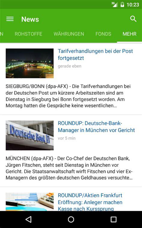 aktienkurse deutsche bank aktienkurse app deutsche bank broker