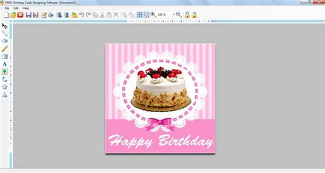 Birthday Card Maker Birthday Card Maker Main Window Birthday Card Maker
