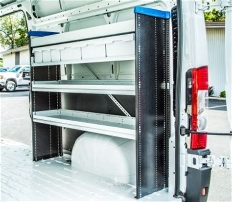 Commercially Available The Shelf by Upfitting High Roof And Compact Vans Articles Vehicle