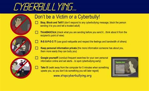 ten tips to prevent cyberbullying the anti bully blog edts523naz claire kait and shaun s page