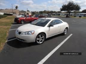 2008 Pontiac G6 2008 Pontiac G6 Gt Convertible 2 Door 3 9l