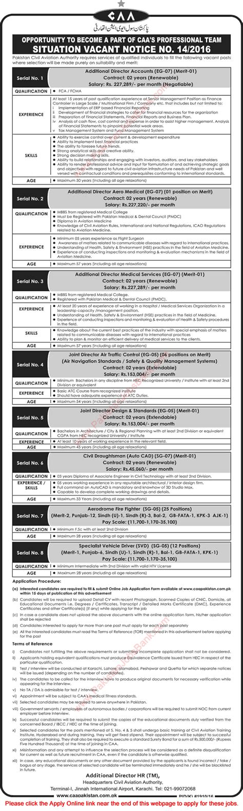 Mba In Aviation Management In Pakistan by Civil Aviation Authority Pakistan November 2016