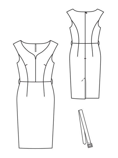 pattern sewing software free princess sheath dress 01 2013 107 sewing patterns