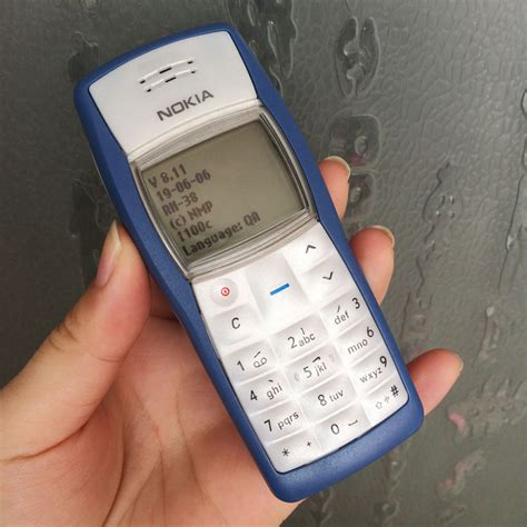 Cheap Blings For Mobile Phones by Aliexpress Buy Refurbished Original Nokia 1100