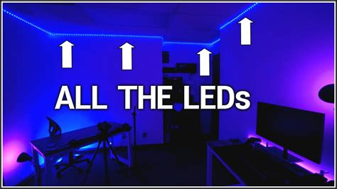 how to light a room how to install whole room rgb leds tech and geek