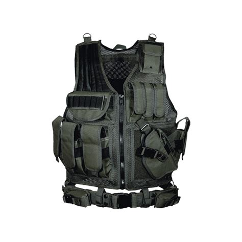 Leapers Inc. UTG 547 Tactical Vest, Black   Concealed