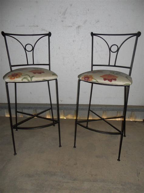 Wrought Iron Bar Stool Wrought Iron Leather Bar Stools Cabinet Hardware Room Appealing Wrought Iron Bar Stools Design