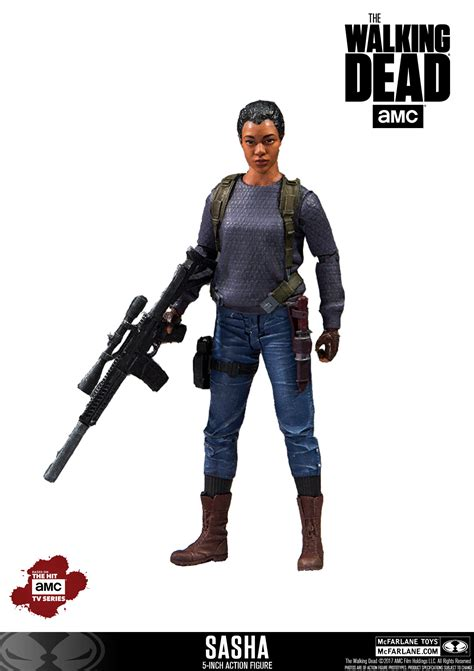 5 inch figures mcfarlane the walking dead tv series 5 inch scale