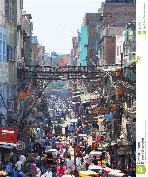 servizio time nuova servizio di chandni chowk a nuova delhi india fotografia