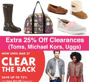 up to 75 clearance at nordstrom rack ends 3 27