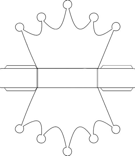 cardboard crown template 56 best box patterns images on cartonnage